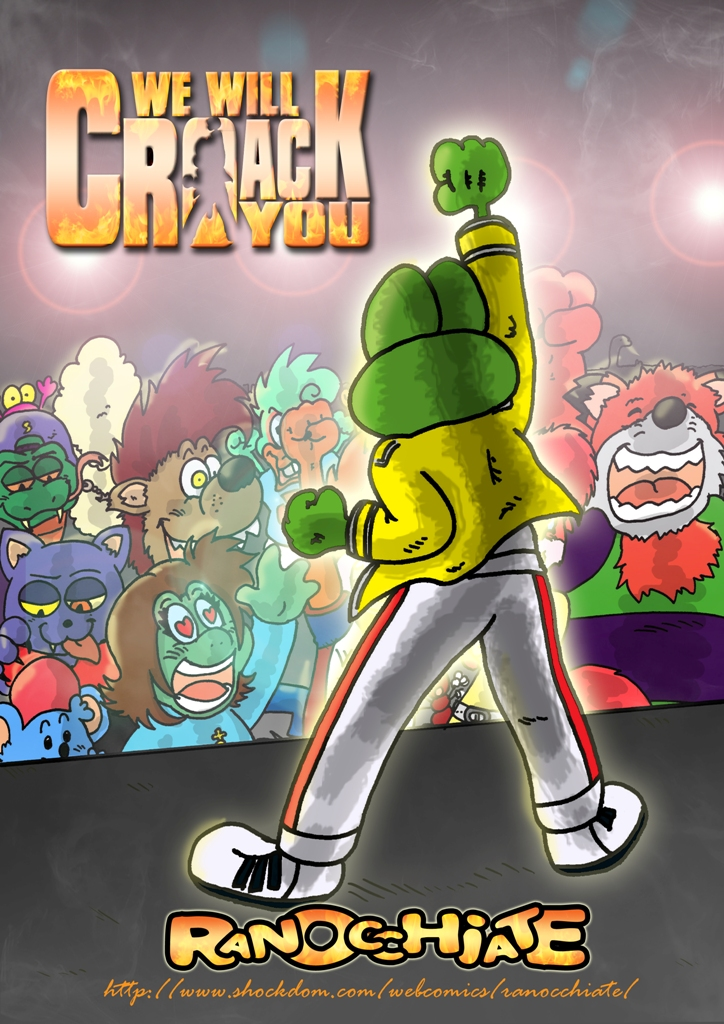 We will croack you