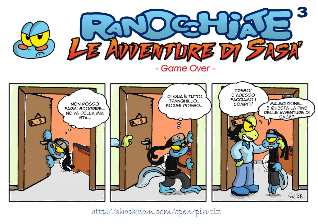 Le avventure di Sasà Liv.3: game over